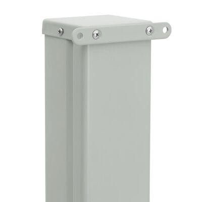 vidaXL Zatahovací boční markýza/zástěna na terasu 100 x 300 cm krémová