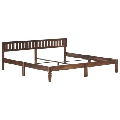 vidaXL Rám postele masivní mangovníkové dřevo 200 cm