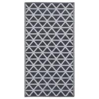 vidaXL Venkovní koberec černý 120 x 180 cm PP