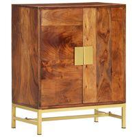 vidaXL Příborník 60 x 35 x 75 cm masivní akáciové dřevo