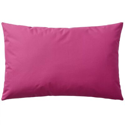 vidaXL Venkovní polštáře 2 ks 60x40 cm růžová