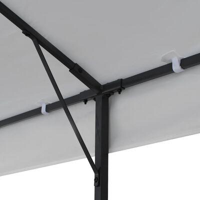 vidaXL Altán 3 x 6 m bílý