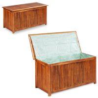 vidaXL Zahradní úložný box 117 x 50 x 58 cm masivní akáciové dřevo