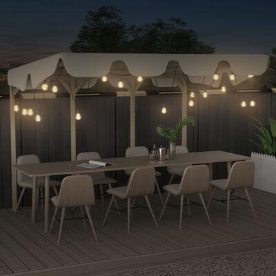 vidaXL Outdoor Festoon Lights 20 pcs Oval Christmas Decoration 23 m