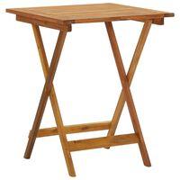 vidaXL Skládací zahradní stolek 60 x 60 x 75 cm masivní akáciové dřevo