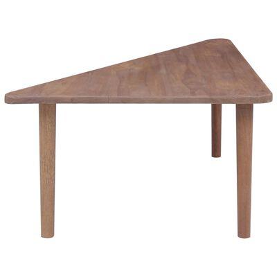 vidaXL Konferenční stolky 2 ks masivní teakové dřevo