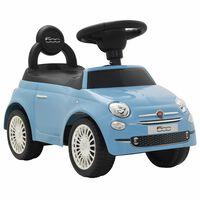 vidaXL Dětské autíčko Fiat 500 modré