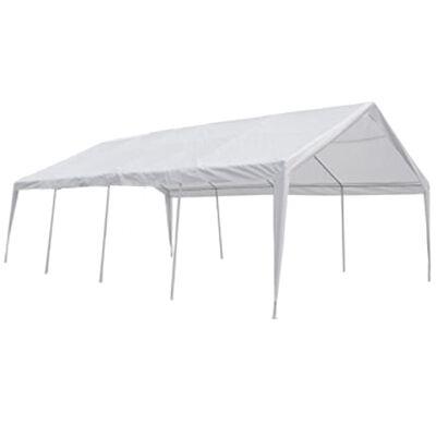 vidaXL Party stan bílý 8 x 4 m