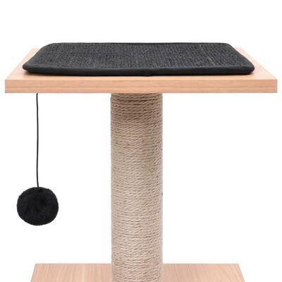 vidaXL Škrabadlo pro kočky se sisalovým koberečkem 62 cm