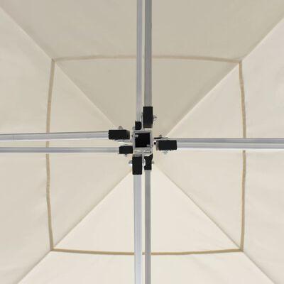 vidaXL Profesionální skládací party stan hliník 3 x 3 m krémový