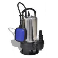 vidaXL Ponorné čerpadlo na znečištěnou vodu 750 W 12500 l/h