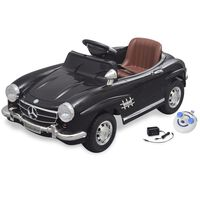 Elektrické dětské auto Mercedes Benz 300SL černé 6 V, dálkové ovládání