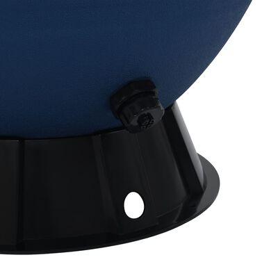 vidaXL Bazénová písková filtrace se 6polohovým ventilem modrá 660 mm