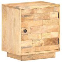 320468 vidaXL Bedside Cabinet 40x30x45 cm Solid Mango Wood