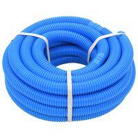 vidaXL Bazénová hadice modrá 32 mm 12,1 m