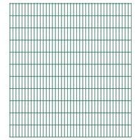 vidaXL 2D zahradní plotové dílce 2,008 x 2,23 m 16 m (celková délka)
