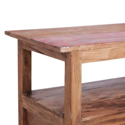 vidaXL TV stolek 90 x 40 x 50 cm masivní recyklované dřevo