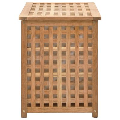 vidaXL Truhla na prádlo 77,5 x 37,5 x 46,5 masivní ořechové dřevo,