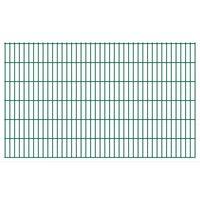 vidaXL 2D Zahradní plotové dílce 2,008 x 1,23 m 22 m (celková délka)