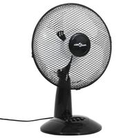 vidaXL Table Fan 3 Speeds 30 cm 40 W Black