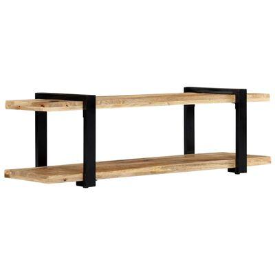 vidaXL TV stolek 160 x 40 x 40 cm masivní hrubé mangovníkové dřevo,