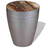 vidaXL Stolička Aviator masivní recyklované dřevo