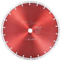 vidaXL Diamantový řezací kotouč ocel 300 mm