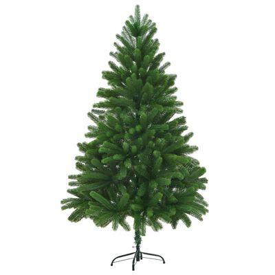 vidaXL Umělý vánoční strom s velmi realistickým jehličím 180 cm zelený