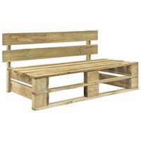 vidaXL Zahradní lavice z palet dřevo