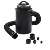 vidaXL Odsavač prachu s adaptérem černý 1 100 W