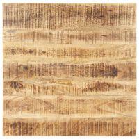 vidaXL Stolní deska masivní mangovníkové dřevo 25–27 mm 70 x 70 cm