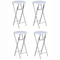 Čtyři barové stoly