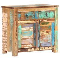 vidaXL Příborník 70 x 35 x 65 cm masivní recyklované dřevo