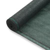 vidaXL Tenisová zástěna zelená 1,6 x 100 m HDPE