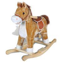 vidaXL Houpací kůň