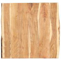 vidaXL Stolní deska masivní akáciové dřevo 60 x (50–60) x 3,8 cm