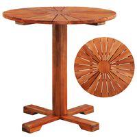 vidaXL Bistro stolek 70 x 70 cm masivní akáciové dřevo