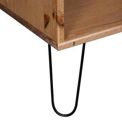 vidaXL Konferenční stolek New York Range světlé dřevo masivní borovice