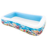 Intex Rodinný bazén Swim Center 305x183x56 cm podmořský design