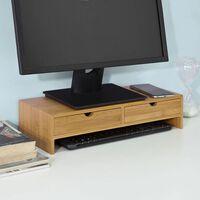 SoBuy FRG198-N Stojan na monitor, zvýšení monitoru, nástavec stolu