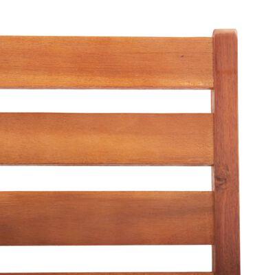 vidaXL Zahradní jídelní židle 4 ks masivní akáciové dřevo
