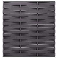 vidaXL Plotový panel WPC 170 x 180 cm šedý