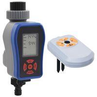 vidaXL Digitální zavlažovací hodiny duální výstup s čidlem vlhkosti
