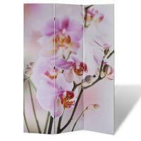 vidaXL Skládací paraván 120 x 170 cm květina