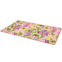 vidaXL Hrací koberec, smyčkový vlas 170 x 290 cm vzor Sladké městečko