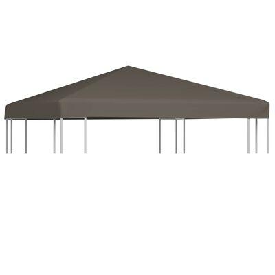 vidaXL Střecha na altán 310 g/m² 3 x 3 m terakotová