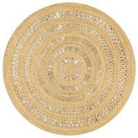 vidaXL Ručně vyrobený koberec ze splétané juty 150 cm