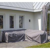 Madison Plachta na zahradní sedací soupravu 255 x 255 x 70 cm šedá