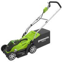 Greenworks Sekačka na trávu G40LM35 s baterií 2 x 40 V 2 Ah