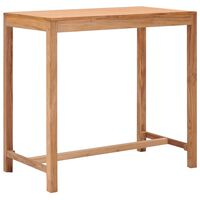 vidaXL Zahradní barový stůl 110 x 60 x 105 cm masivní teakové dřevo